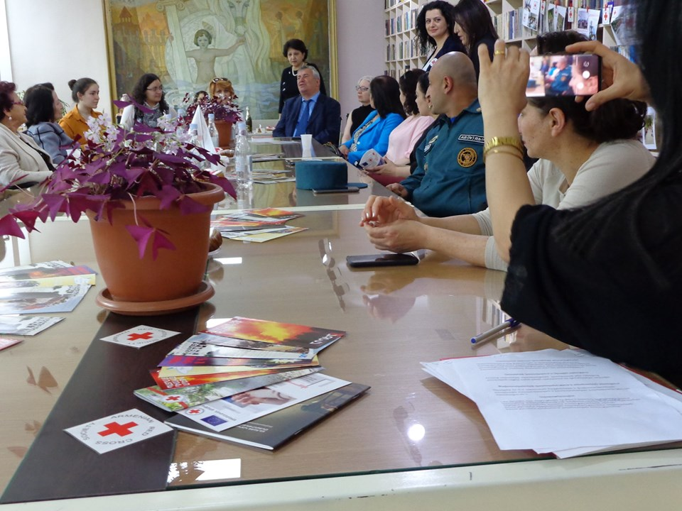 Միջոցառում նվիրված Կարմիր խաչի և Կարմիր Մահիկի միջազգային օրվան (19)