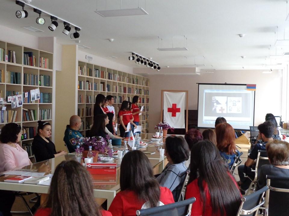 Միջոցառում նվիրված Կարմիր խաչի և Կարմիր Մահիկի միջազգային օրվան (21)