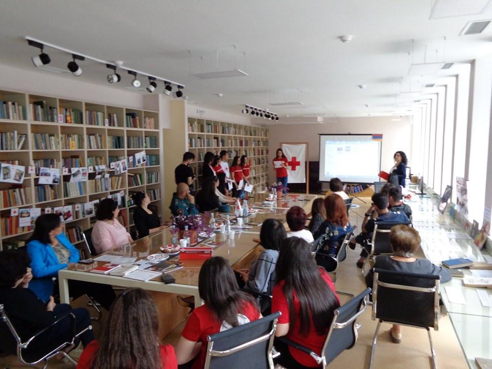 Միջոցառում նվիրված Կարմիր խաչի և Կարմիր Մահիկի միջազգային օրվան (23)