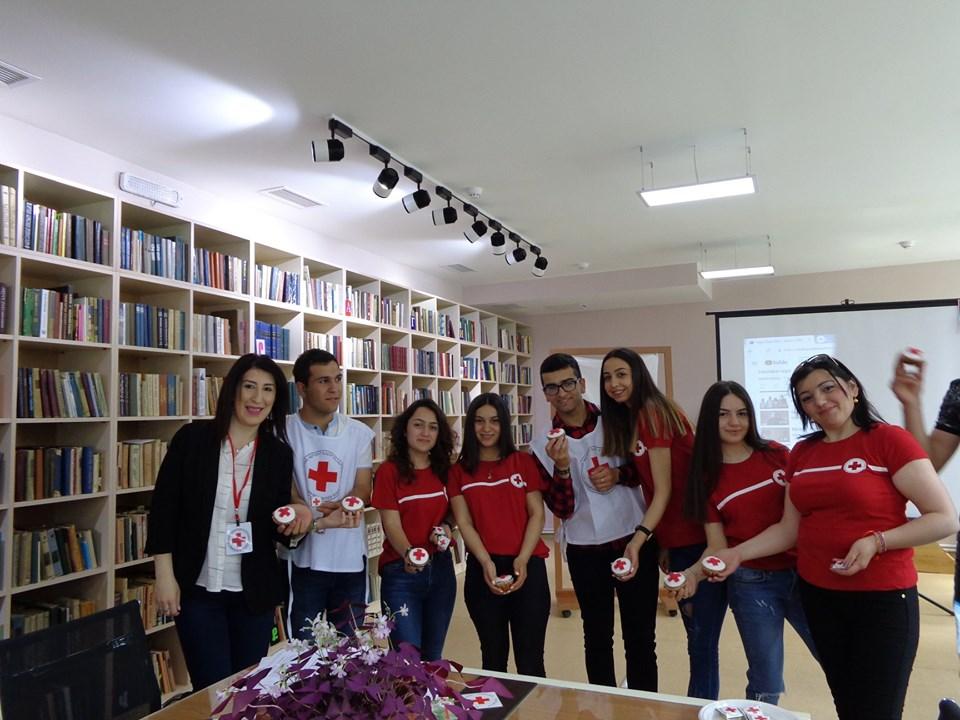 Միջոցառում նվիրված Կարմիր խաչի և Կարմիր Մահիկի միջազգային օրվան (32)
