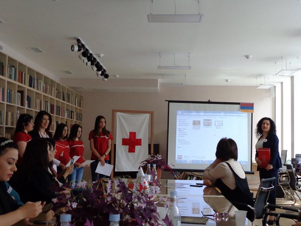 Միջոցառում նվիրված Կարմիր խաչի և Կարմիր Մահիկի միջազգային օրվան (35)