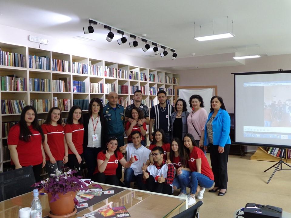 Միջոցառում նվիրված Կարմիր խաչի և Կարմիր Մահիկի միջազգային օրվան (5)