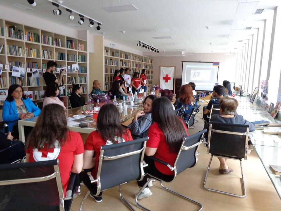 Միջոցառում նվիրված Կարմիր խաչի և Կարմիր Մահիկի միջազգային օրվան (9)