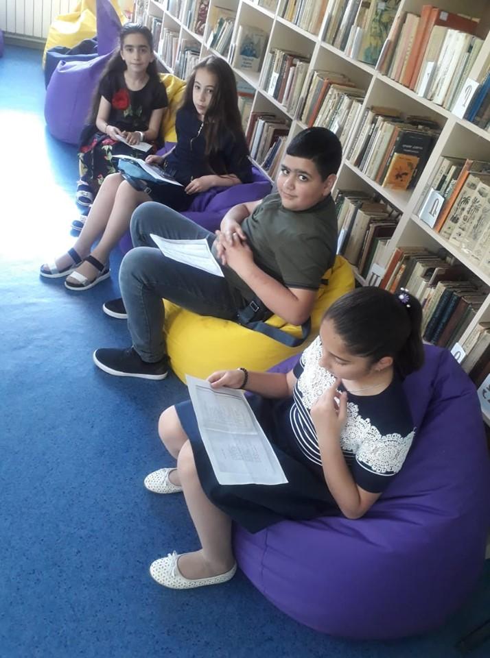 Էլեկտրոնային գրադարանի առօրյան (7)