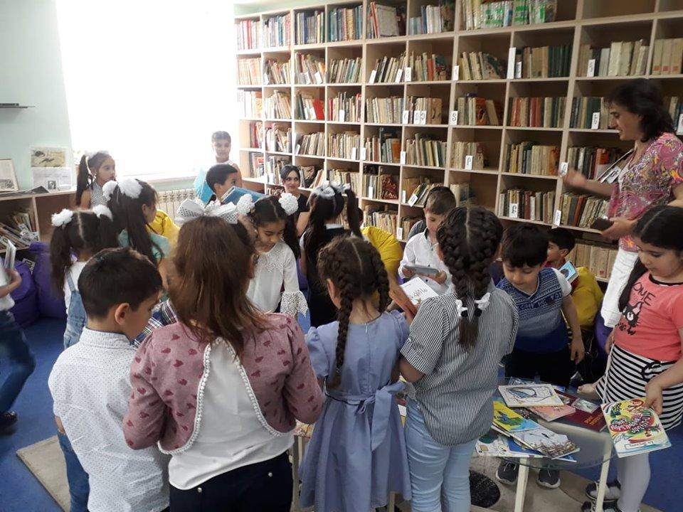 Թիվ 10 միջն. դպրոցի I- ին դասարանի աշակերտների այցը (10)