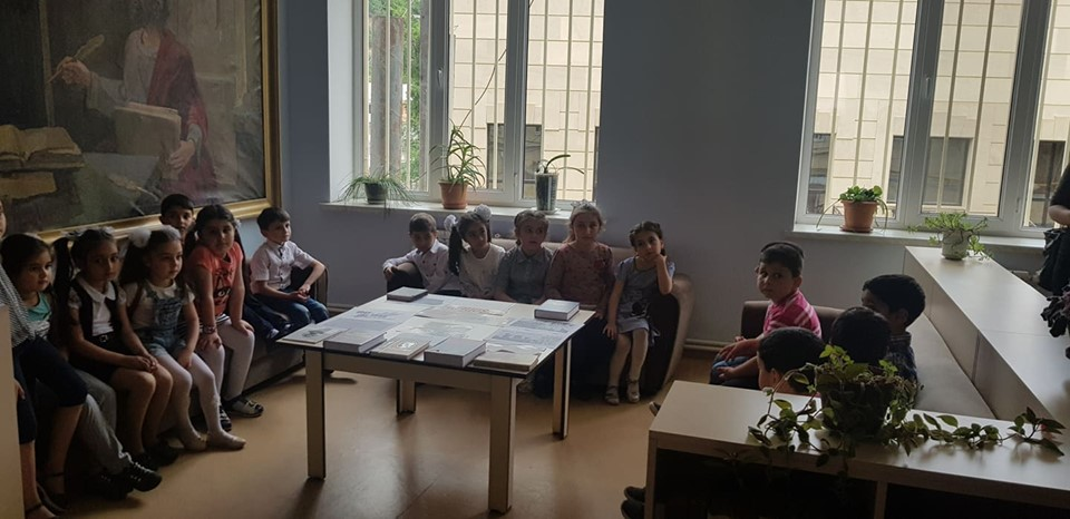 Թիվ 10 միջն. դպրոցի I- ին դասարանի աշակերտների այցը (15)