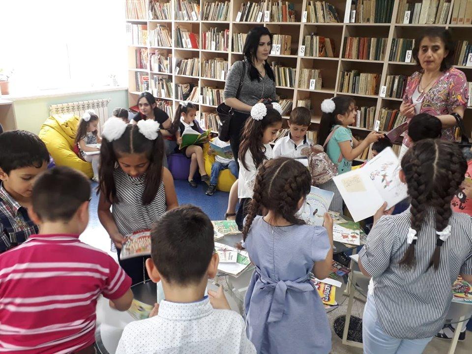 Թիվ 10 միջն. դպրոցի I- ին դասարանի աշակերտների այցը (16)
