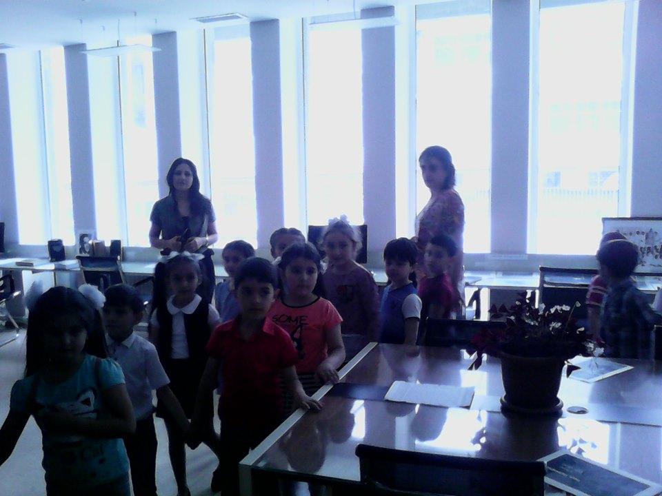 Թիվ 10 միջն. դպրոցի I- ին դասարանի աշակերտների այցը (19)