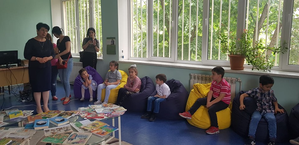 Թիվ 10 միջն. դպրոցի I- ին դասարանի աշակերտների այցը (2)