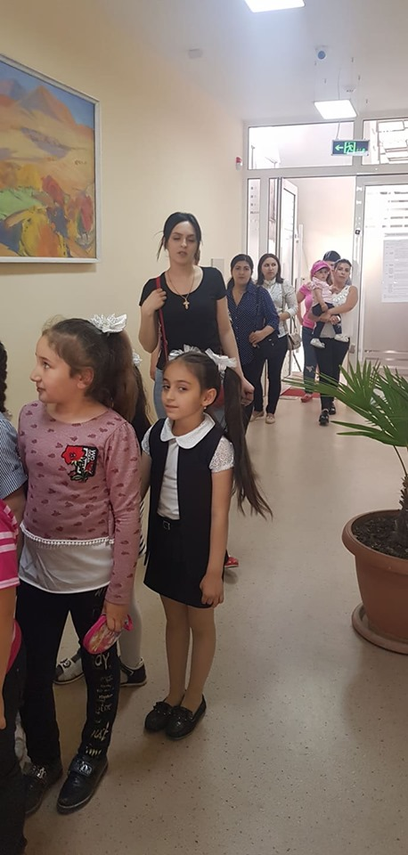 Թիվ 10 միջն. դպրոցի I- ին դասարանի աշակերտների այցը (25)