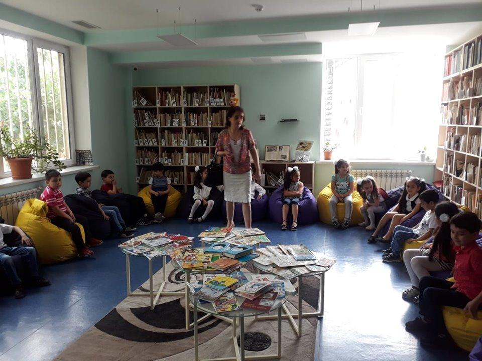 Թիվ 10 միջն. դպրոցի I- ին դասարանի աշակերտների այցը (28)