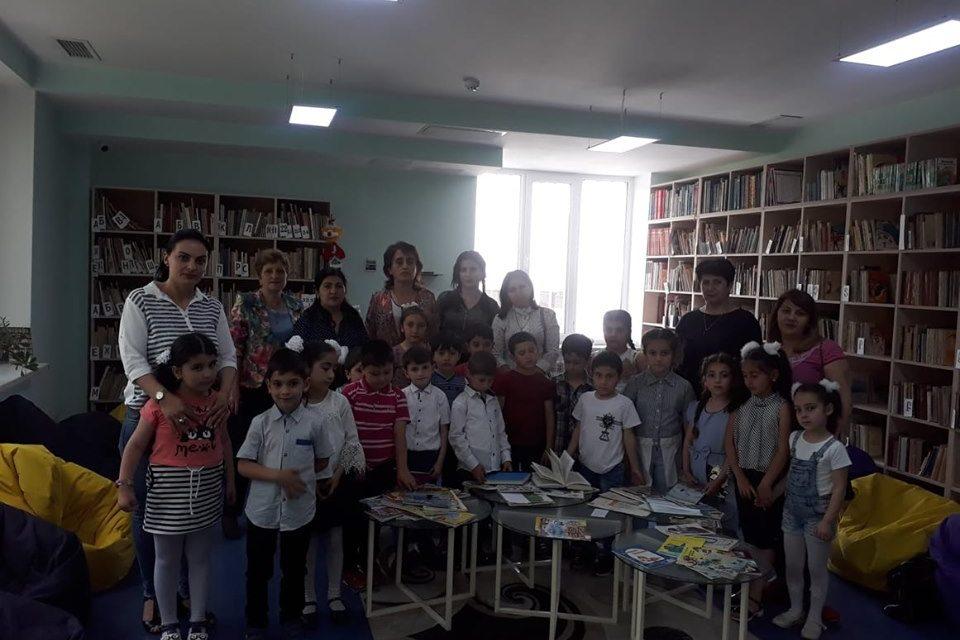 Թիվ 10 միջն. դպրոցի I- ին դասարանի աշակերտների այցը