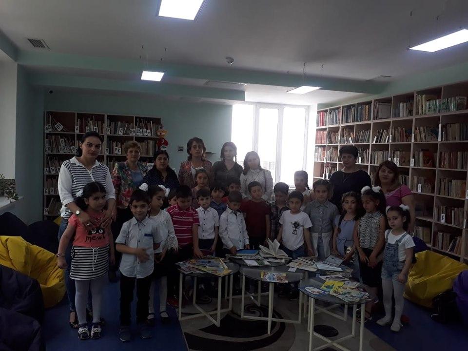 Թիվ 10 միջն. դպրոցի I- ին դասարանի աշակերտների այցը (32)