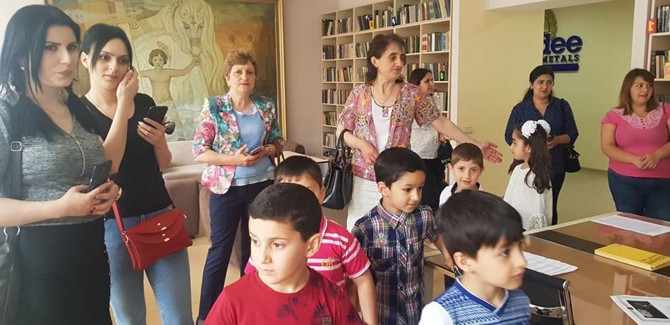 Թիվ 10 միջն. դպրոցի I- ին դասարանի աշակերտների այցը (36)