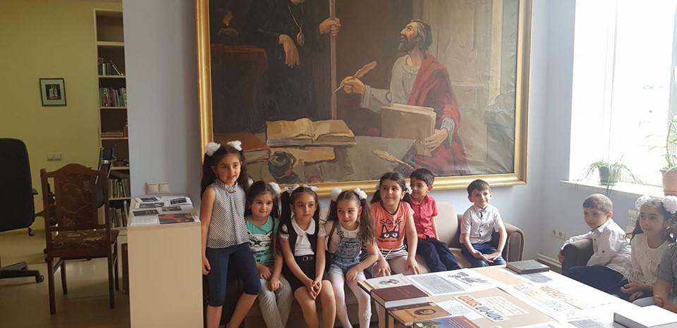 Թիվ 10 միջն. դպրոցի I- ին դասարանի աշակերտների այցը (9)